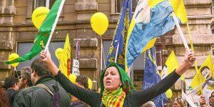Palloncini Marcia Amnistia Partito Radicale