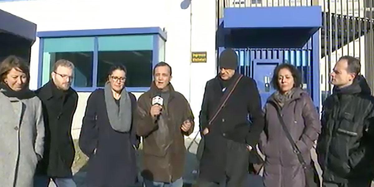 Visita al carcere di Secondigliano